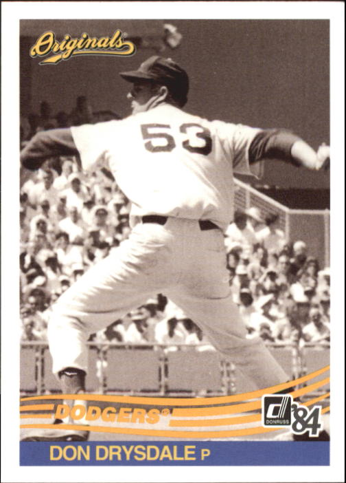 2002 Donruss Originals #212 Don Drysdale 84