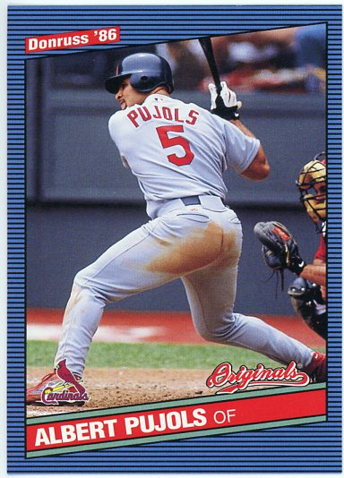 2002 Donruss Originals #246 Albert Pujols 86