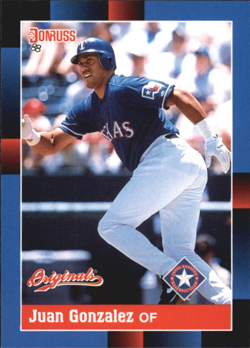 2002 Donruss Originals #361 Juan Gonzalez 88