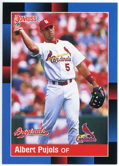 2002 Donruss Originals #366 Albert Pujols 88 SP
