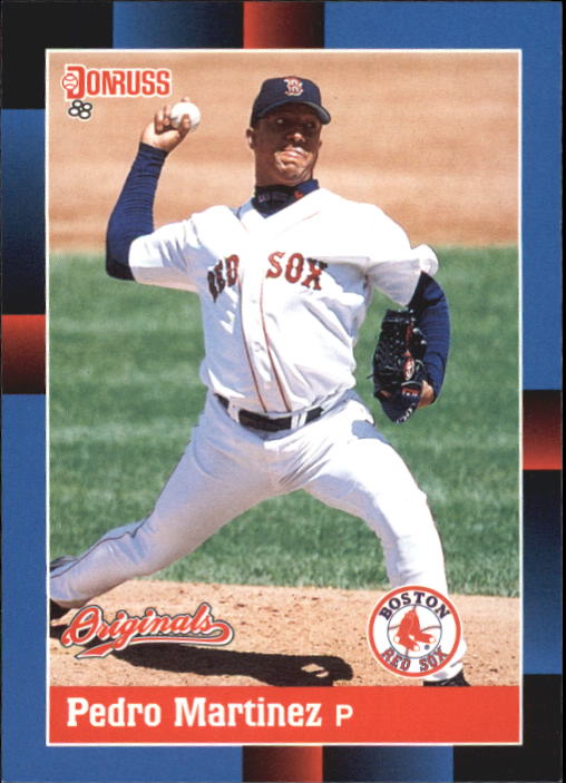 2002 Donruss Originals #386 Pedro Martinez 88