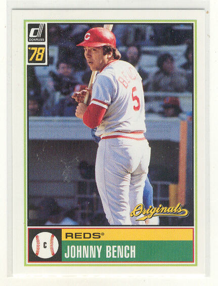 2002 Donruss Originals What If 1978 #5 Johnny Bench