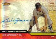 2002 Finest Moments Autographs #FMALA Luis Aparicio