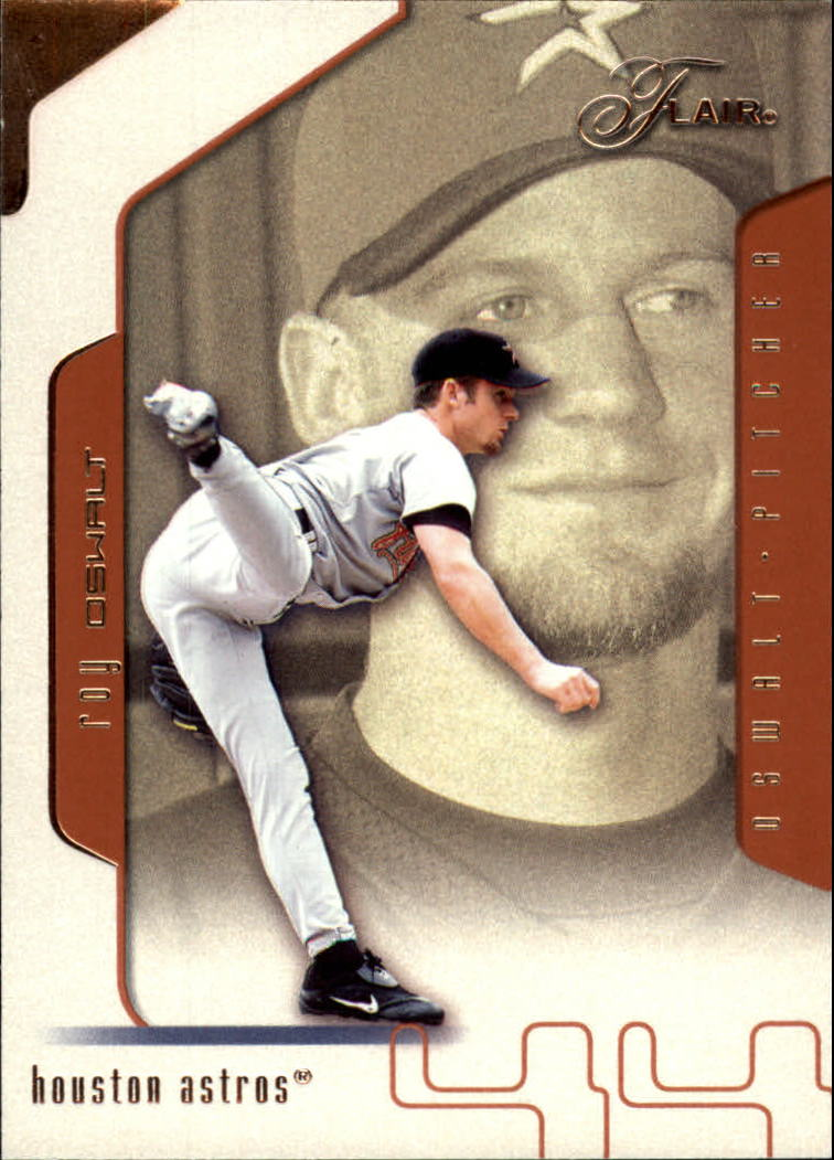 2002 Flair #16 Roy Oswalt