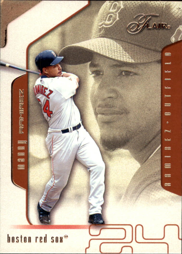 2002 Flair #97 Manny Ramirez
