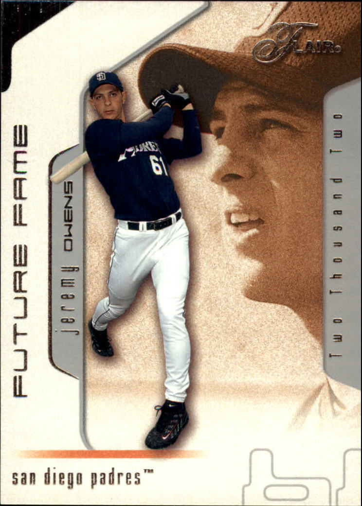 2002 Flair #114 Jeremy Owens FF