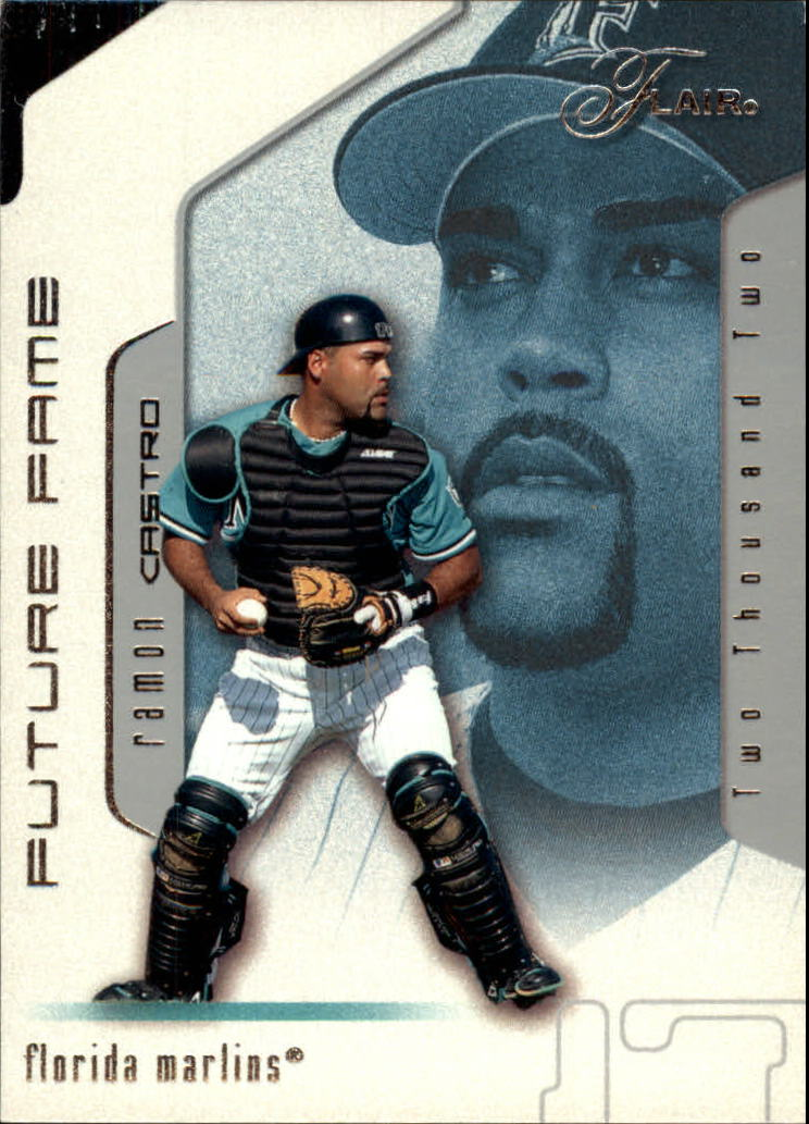 2002 Flair #122 Ramon Castro FF