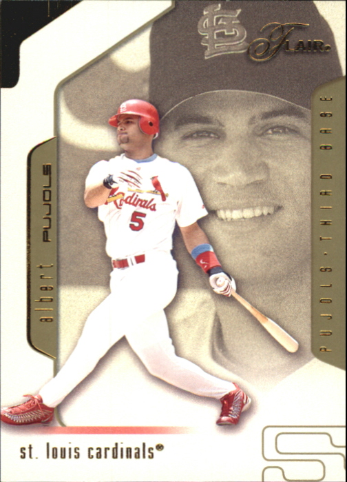 2002 Flair Collection #55 Albert Pujols