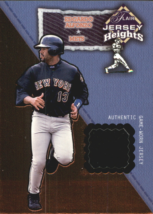 2002 Flair Jersey Heights #1 Edgardo Alfonzo