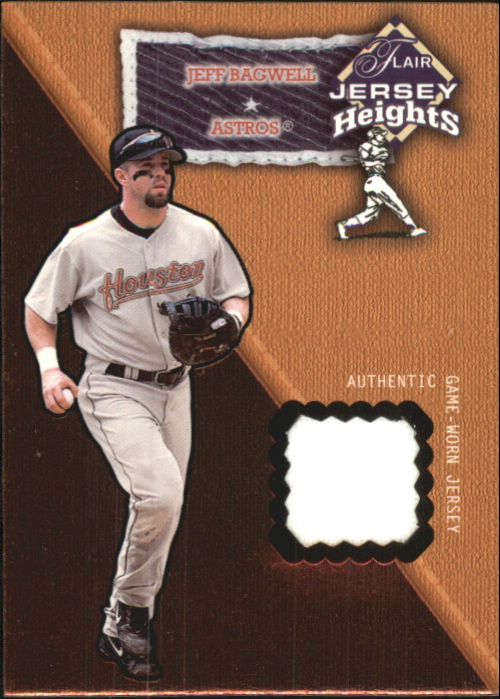 2002 Flair Jersey Heights #2 Jeff Bagwell *
