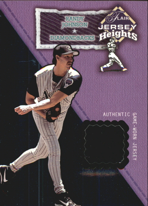 2002 Flair Jersey Heights #14 Randy Johnson *