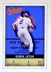 2002 Fleer Authentix #1 Derek Jeter