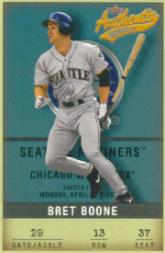 2002 Fleer Authentix #13 Bret Boone