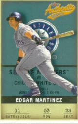 2002 Fleer Authentix #53 Edgar Martinez