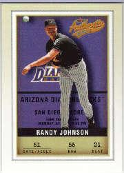 2002 Fleer Authentix #55 Randy Johnson