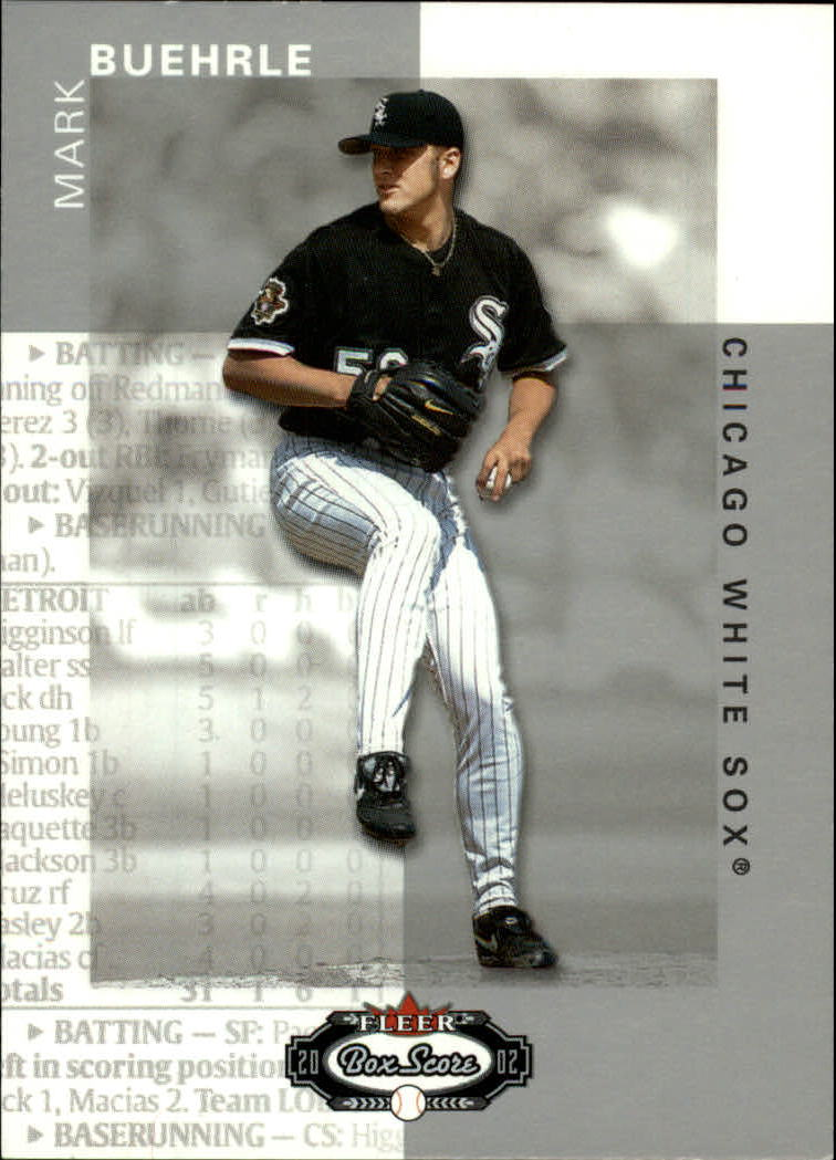 2002 Fleer Box Score #4 Mark Buehrle