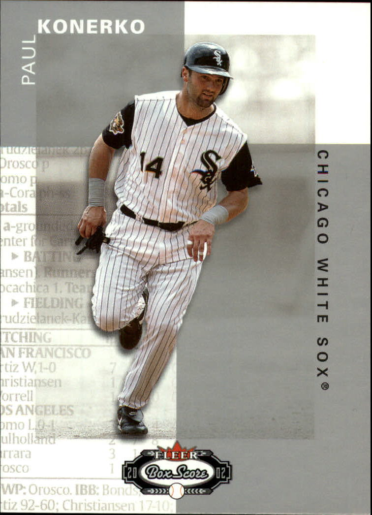 2002 Fleer Box Score #8 Paul Konerko