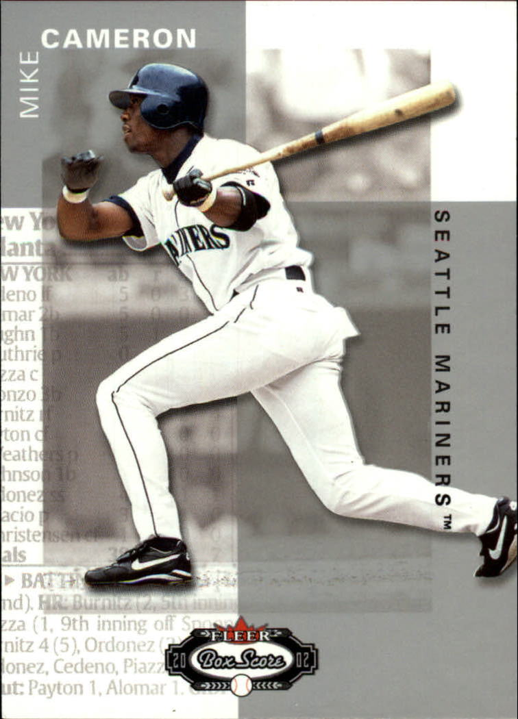 2002 Fleer Box Score #11 Mike Cameron