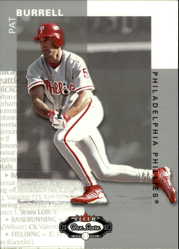 2002 Fleer Box Score #14 Pat Burrell