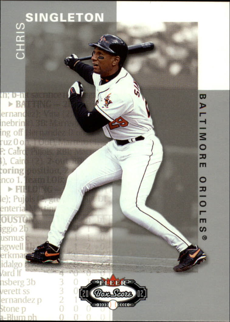 2002 Fleer Box Score #18 Chris Singleton