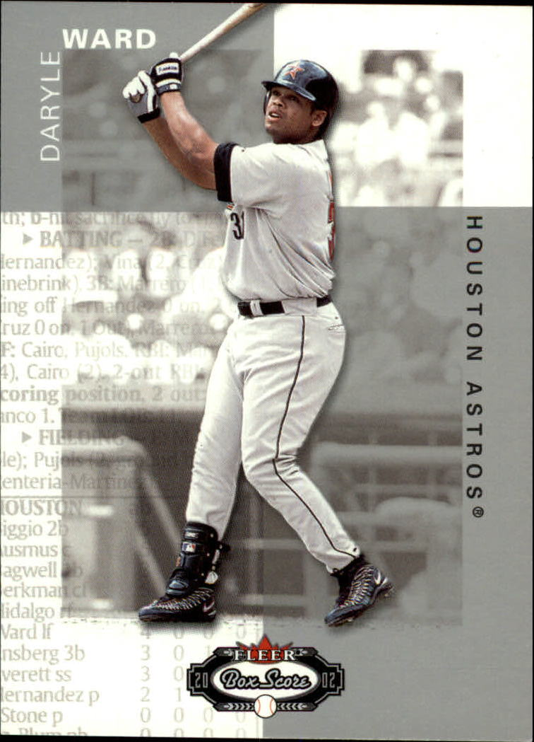 2002 Fleer Box Score #19 Daryle Ward