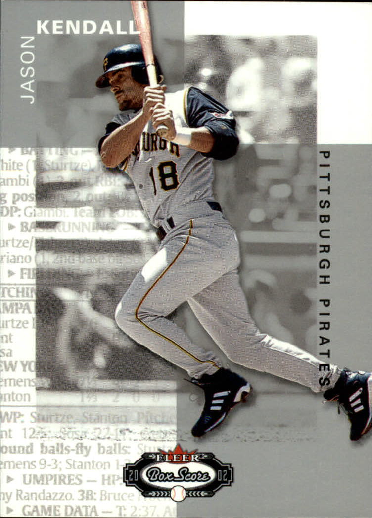 2002 Fleer Box Score #21 Jason Kendall