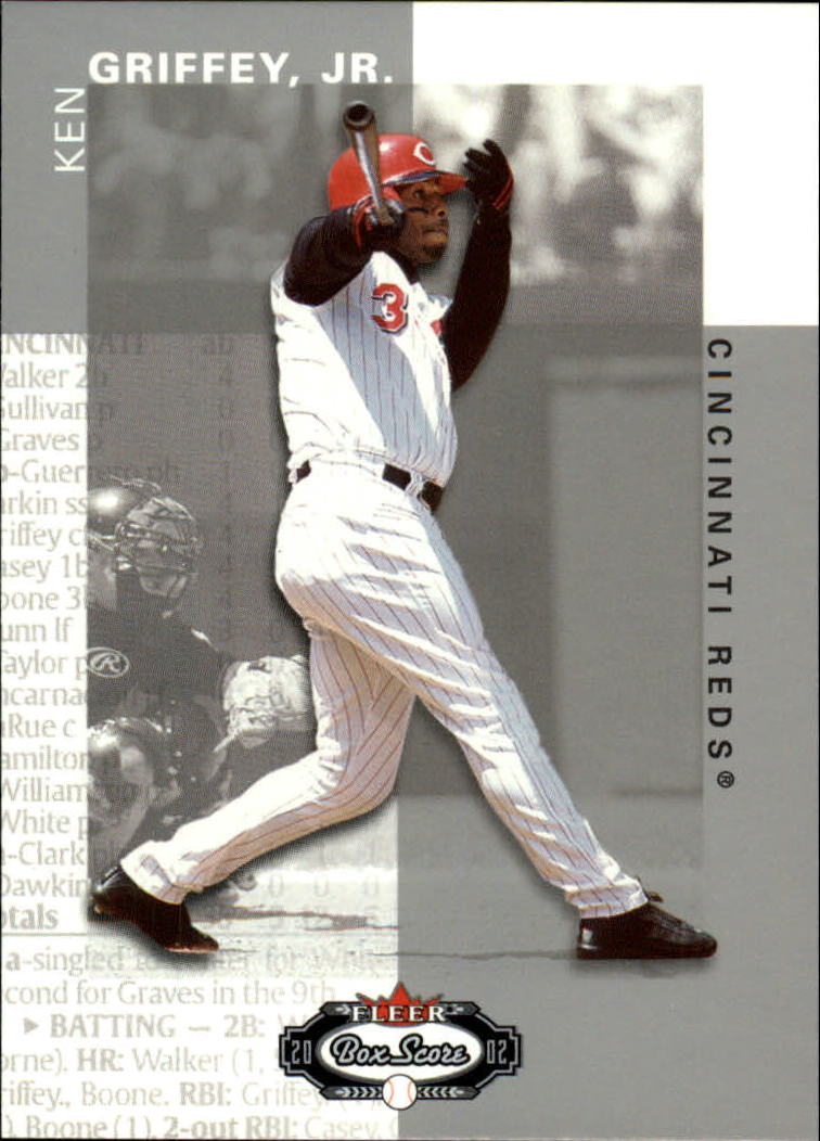 2002 Fleer Box Score #28 Ken Griffey Jr.