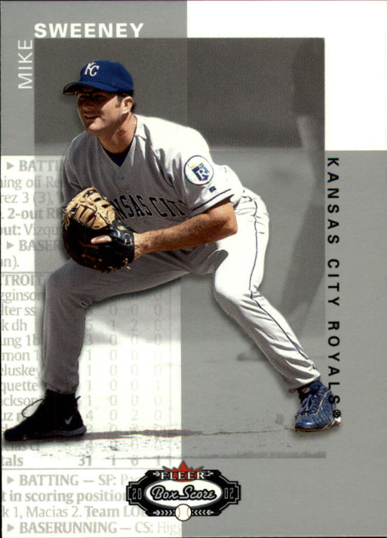 2002 Fleer Box Score #29 Mike Sweeney