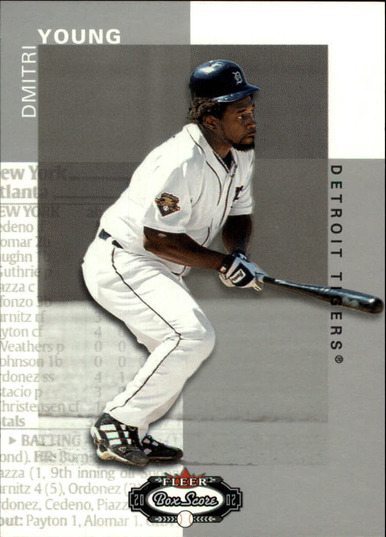 2002 Fleer Box Score #36 Dmitri Young