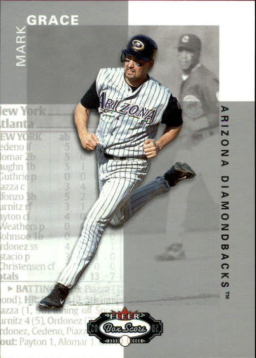 2002 Fleer Box Score #40 Mark Grace