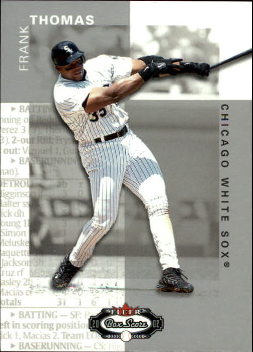 2002 Fleer Box Score #41 Frank Thomas