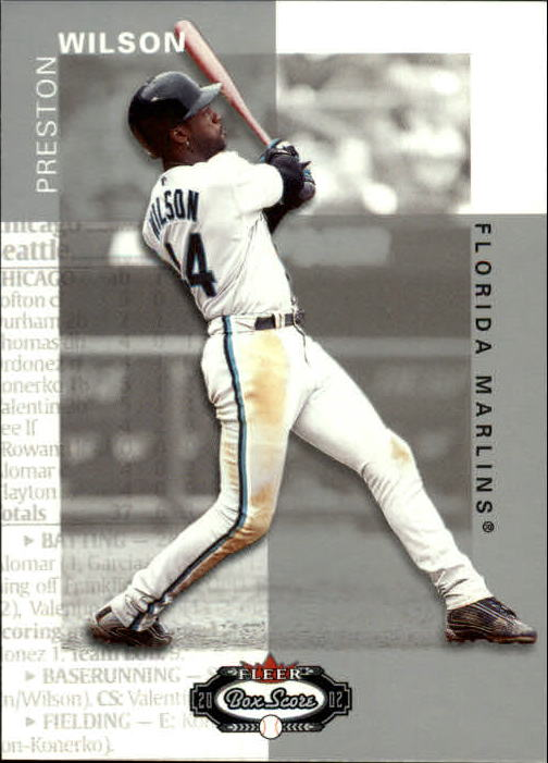 2002 Fleer Box Score #42 Preston Wilson