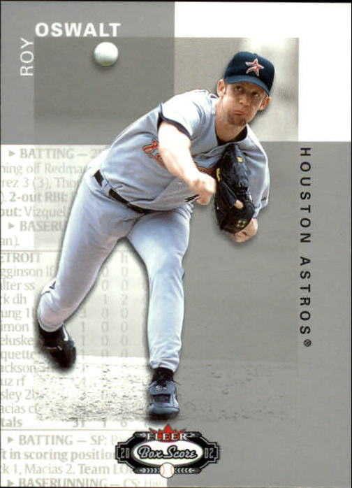 2002 Fleer Box Score #46 Roy Oswalt