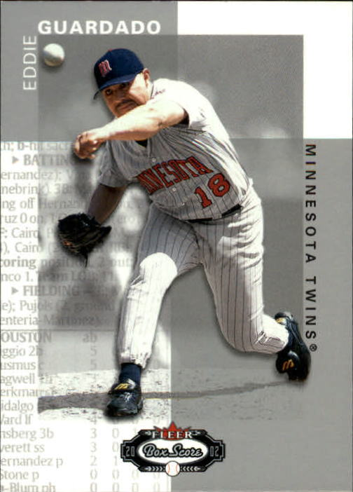 2002 Fleer Box Score #53 Eddie Guardado
