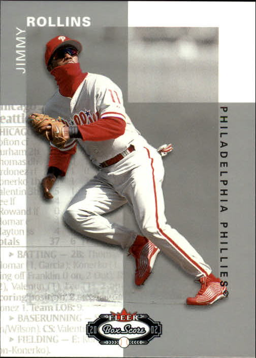 2002 Fleer Box Score #57 Jimmy Rollins