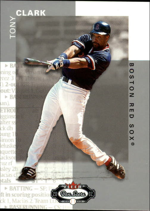 2002 Fleer Box Score #59 Tony Clark