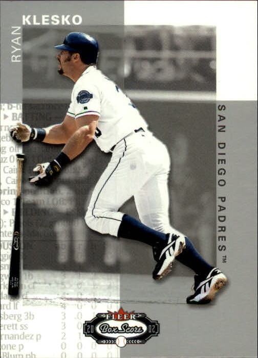 2002 Fleer Box Score #65 Ryan Klesko