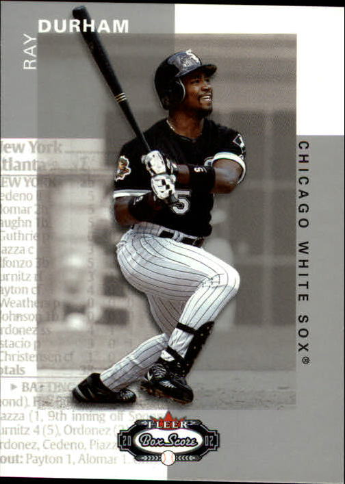 2002 Fleer Box Score #70 Ray Durham