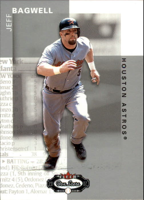 2002 Fleer Box Score #71 Jeff Bagwell