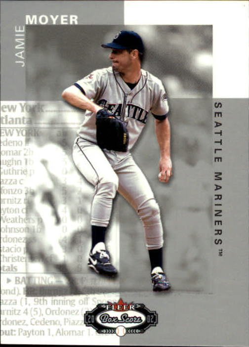 2002 Fleer Box Score #73 Jamie Moyer
