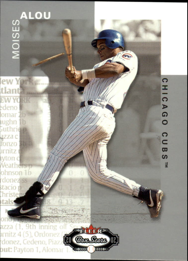 2002 Fleer Box Score #93 Moises Alou