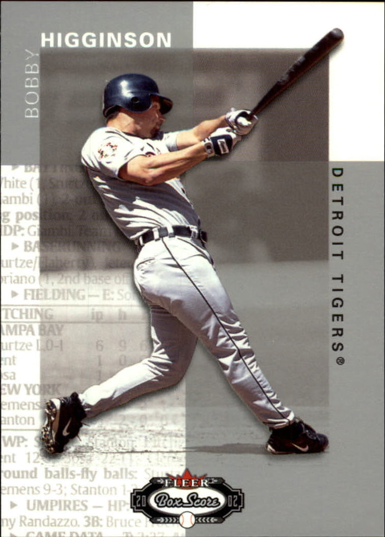 2002 Fleer Box Score #94 Bobby Higginson