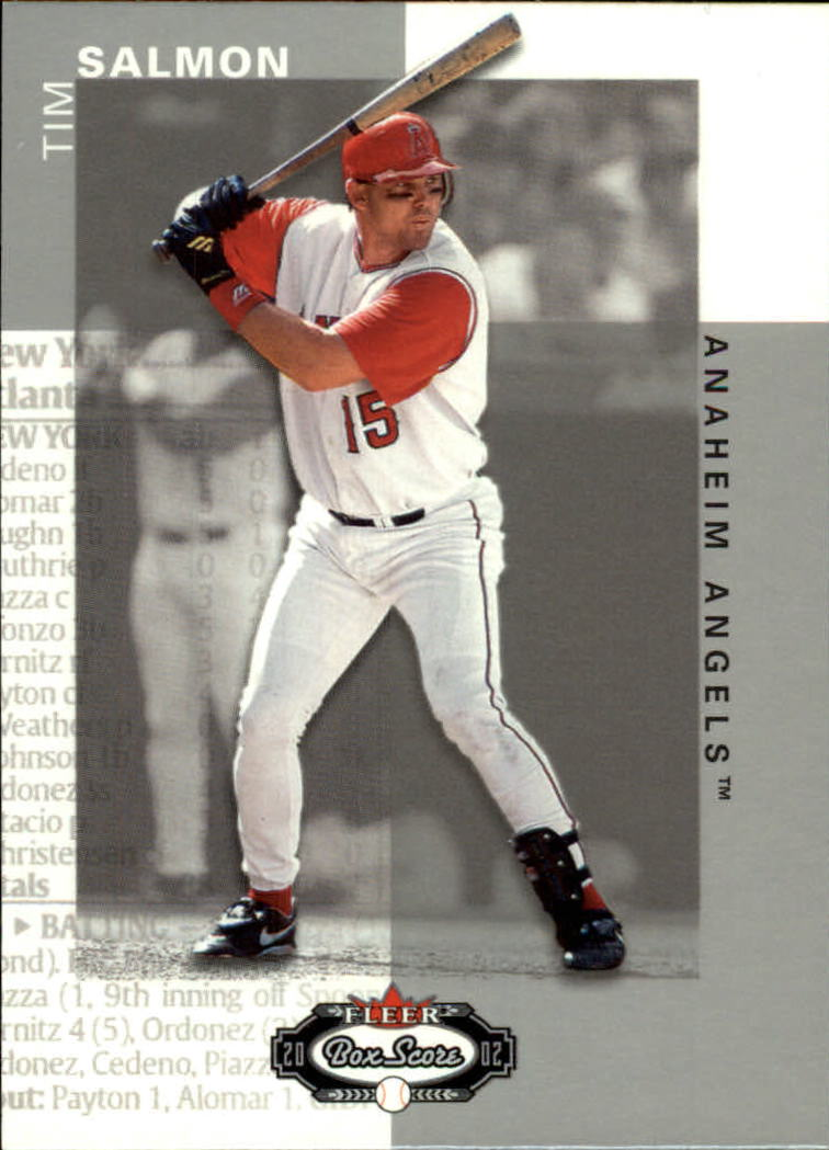 2002 Fleer Box Score #105 Tim Salmon