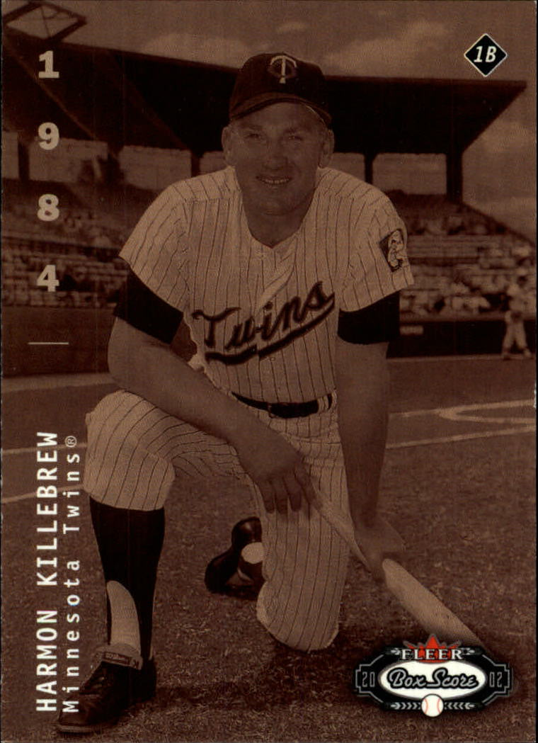 2002 Fleer Box Score #306 Harmon Killebrew CT