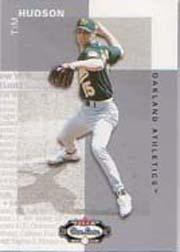 2002 Fleer Box Score Classic Miniatures #113 Tim Hudson