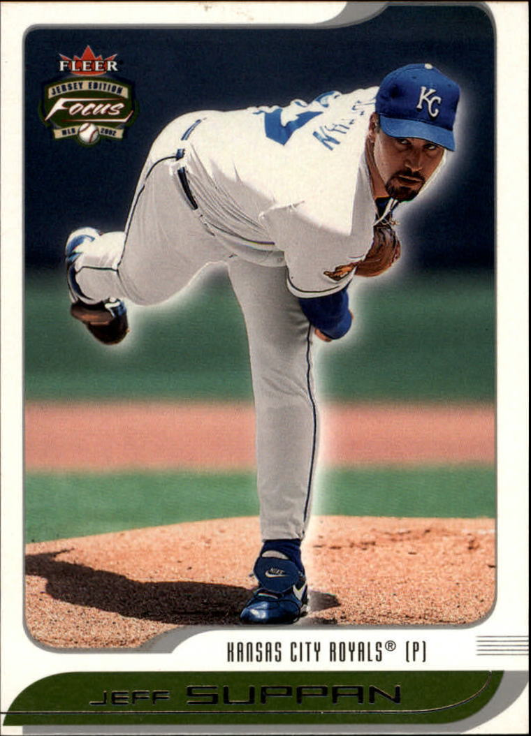 2002 Fleer Focus JE #223 Jeff Suppan