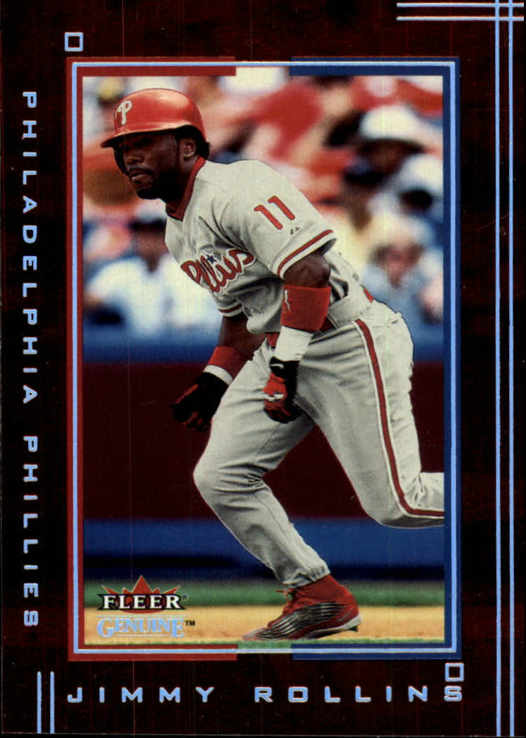 2002 Fleer Genuine #47 Jimmy Rollins