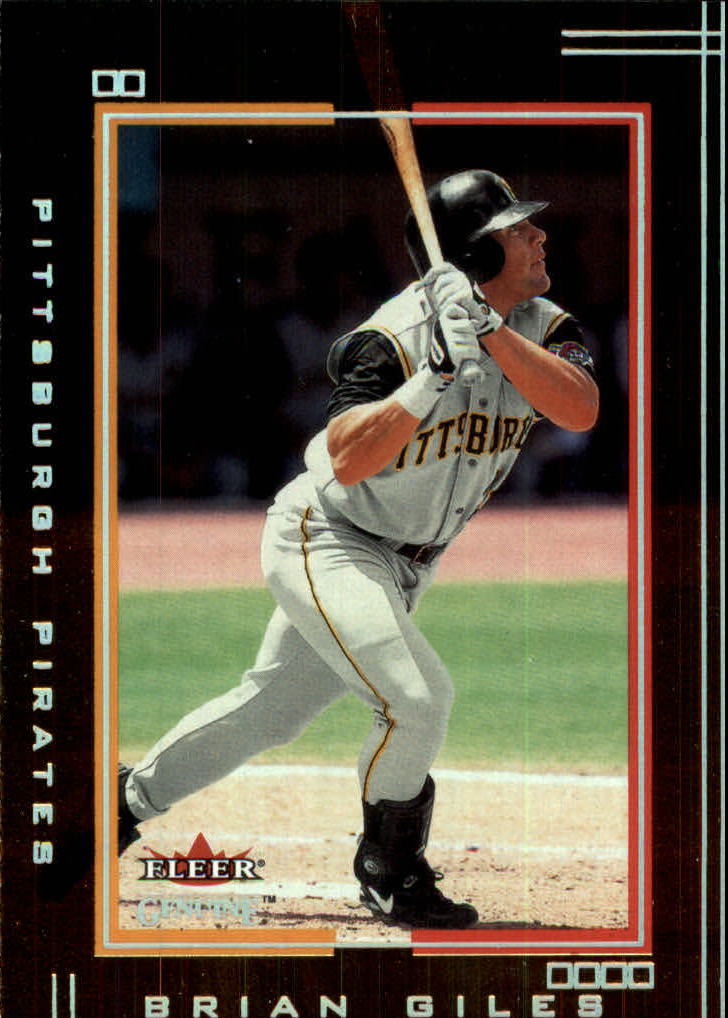 2002 Fleer Genuine #58 Brian Giles