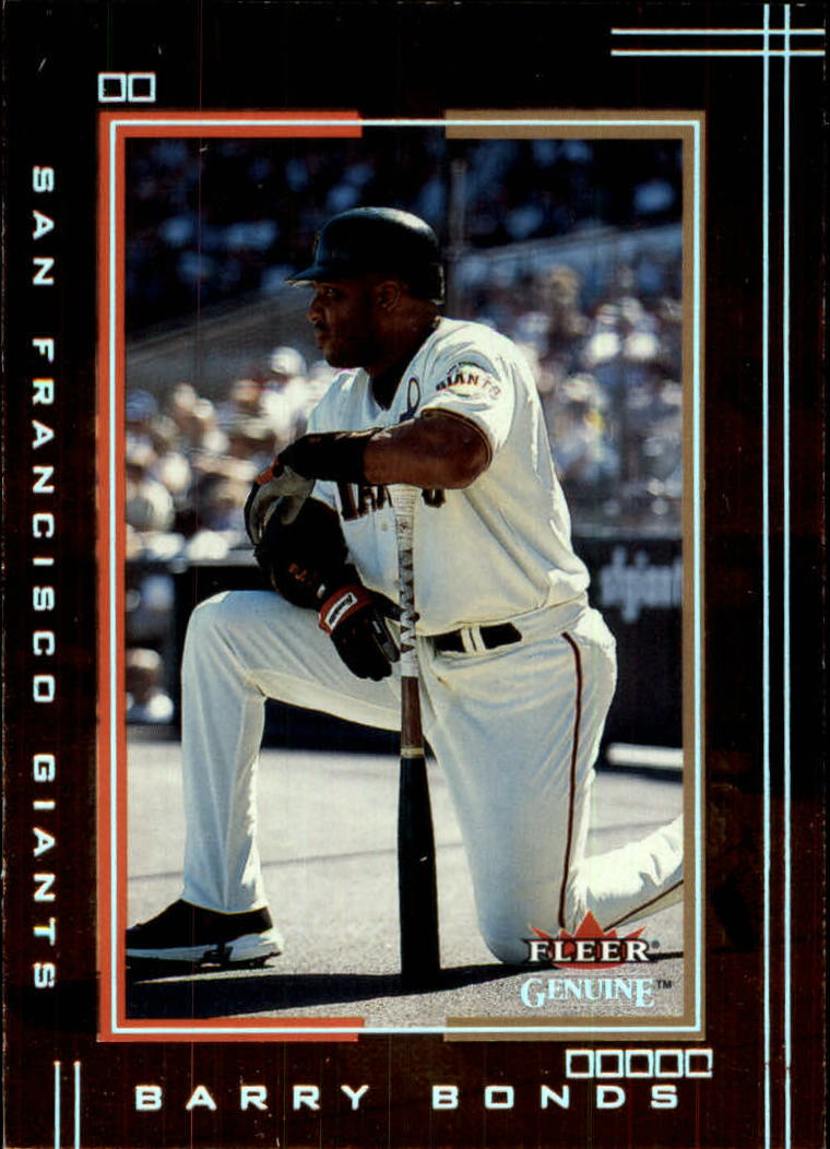 2002 Fleer Genuine #66 Barry Bonds front image