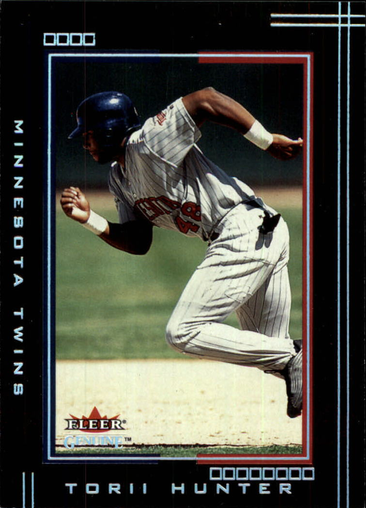 2002 Fleer Genuine #77 Torii Hunter